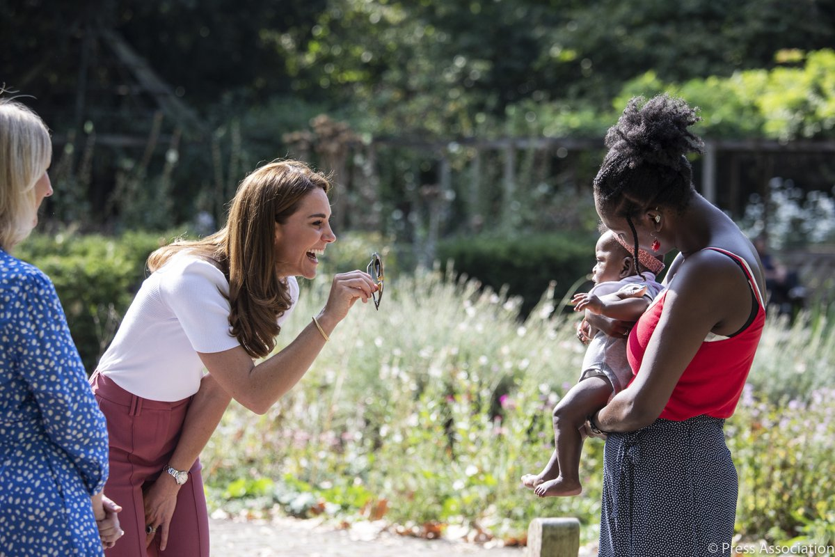 The Duchess of Cambridge spent today hearing about the importance of parent-powered support programmes. Following a videocall with experts in the field this morning, The Duchess heard from parents and peer supporters directly about their experiences of parent-to-parent support.