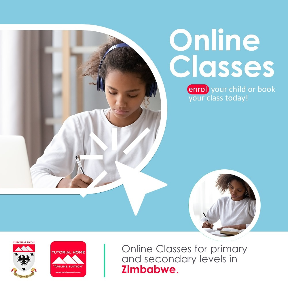 Primary and Secondary lndividual Online Classes (UK lPO Patented Learning Program)  Tutorial Home Online is a respected educational platform for students and teachers in Zim and throughout Africa. https://t.co/9TGkduw0nh