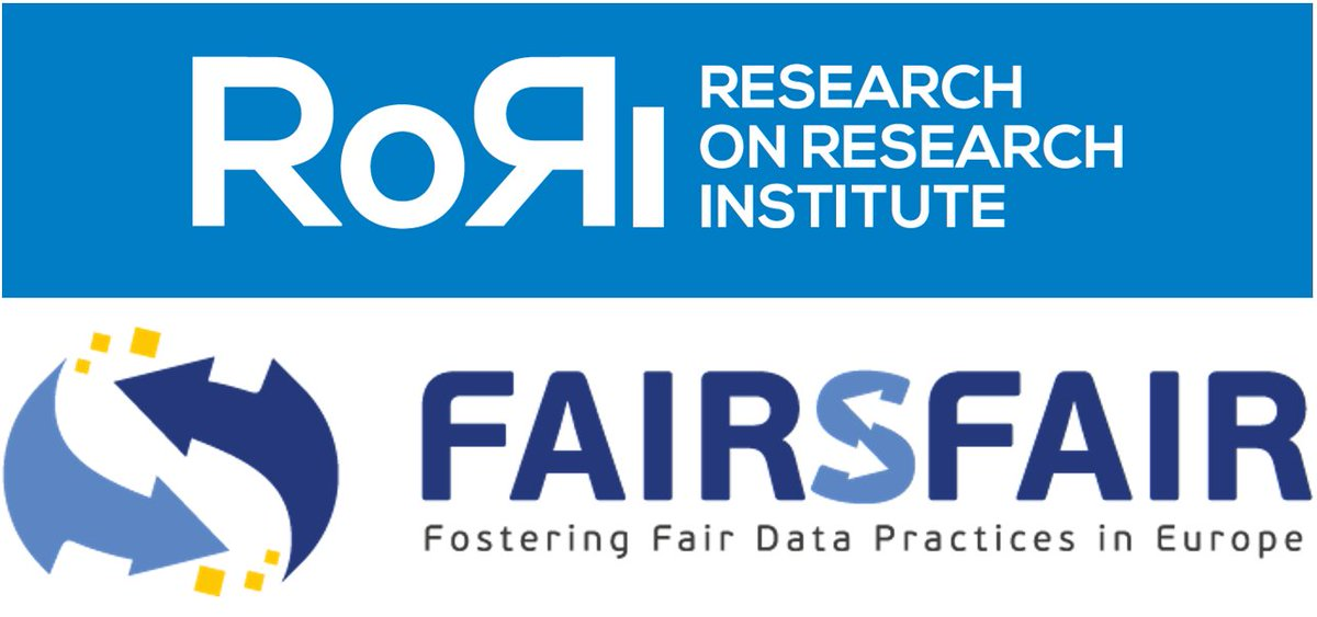RoRI and @FAIRsFAIR_EU to partner on 'FAIRware' initiative | We're delighted to announce that the European Commission's FAIRsFAIR project will provide expert input into RoRI's FAIRware initiative. Request For Proposals coming *Mon 28 Sept*. Read more: https://t.co/1k8UGn0FPz https://t.co/mlfSYqF1Jh