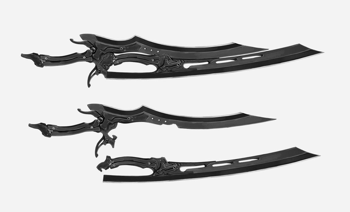 14.双剣に分離する長剣