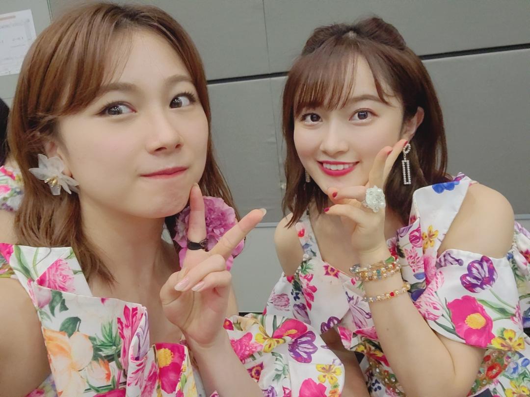 【10期11期 Blog】 花柄衣装!石田亜佑美:…  #morningmusume20 #ハロプロ