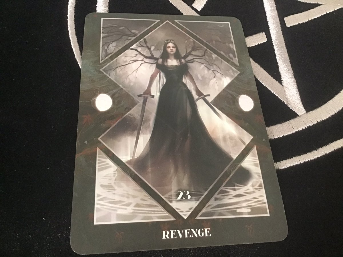 #DailyMirror Revenge In opposition you may seek to stand up against the wrongs perpetuated by such devious forces, remember though, it can be easy to get lost when your eyes are so filled with fury, but on the other hand who else will fight? #DailyTarot #Tarot #MagicianXV #Oracle https://t.co/zmA54e72eC