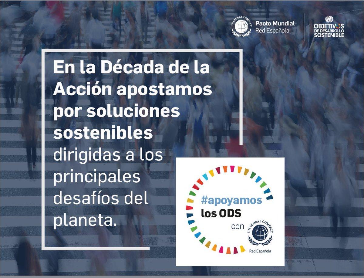 Con nuestra contribución a los ODS, somos parte de la solución a los retos energéticos, económicos y sociales a los que nos enfrentamos. Descubre nuestras iniciativas y cómo #apoyamoslosODS con @PactoMundial: https://t.co/V4HbLLWdiX https://t.co/pSfAd0YGpp