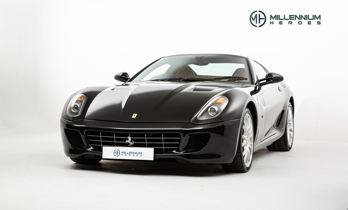 NEW STOCK; In a well suited Nero Daytona metallic paint this 599 is defined by a subtle shade that perfectly suits each one of the GT's beautiful curves  https://t.co/kLheb6BdyE | #Ferrari599 #599GTB https://t.co/XiVSlkpxPv