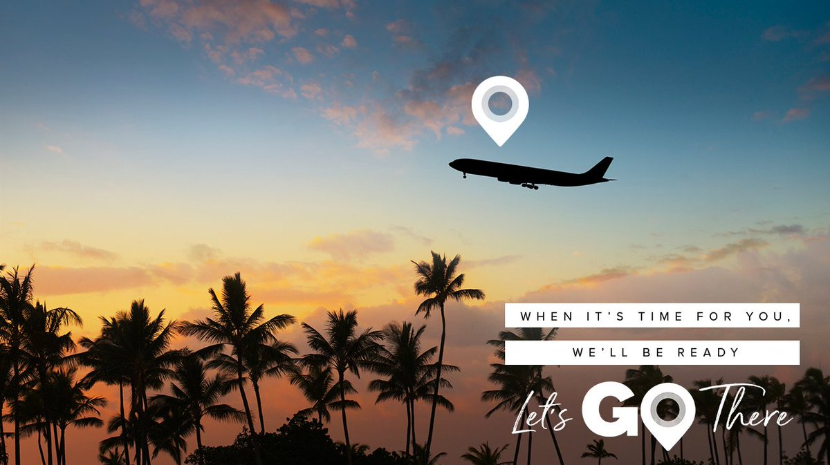 Let's go here, there and everywhere! ✈️ #LetsMakePlans Pick your next adventure at: https://t.co/vfdqm1We3G Find the latest guidance on travel safety & more at: https://t.co/kXXq4ZDBTF https://t.co/c9fNvETD8O