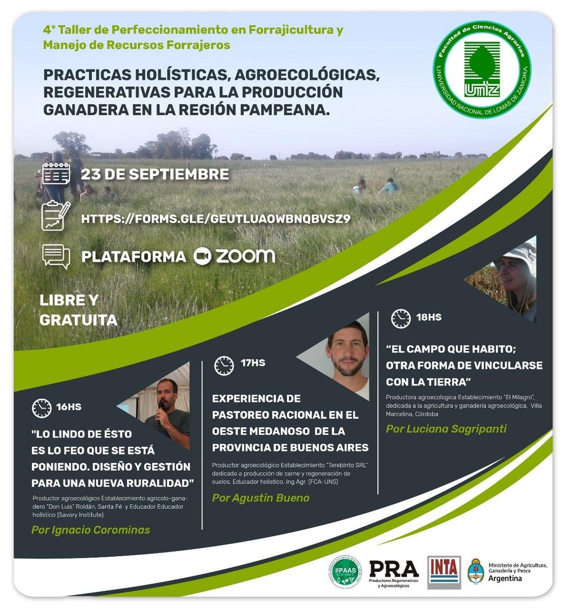 Mañana #ganadería #agroecología https://t.co/5bHkDPXzU4