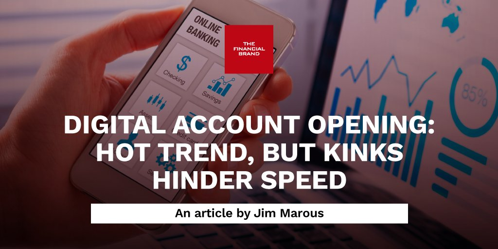 The COVID-19 pandemic forced banks and credit unions to quickly find a way for consumers to open new checking accounts digitally. While digital options increased, the user experience remains old school. qoo.ly/38axr9 #banking #digitalbanking #fintech