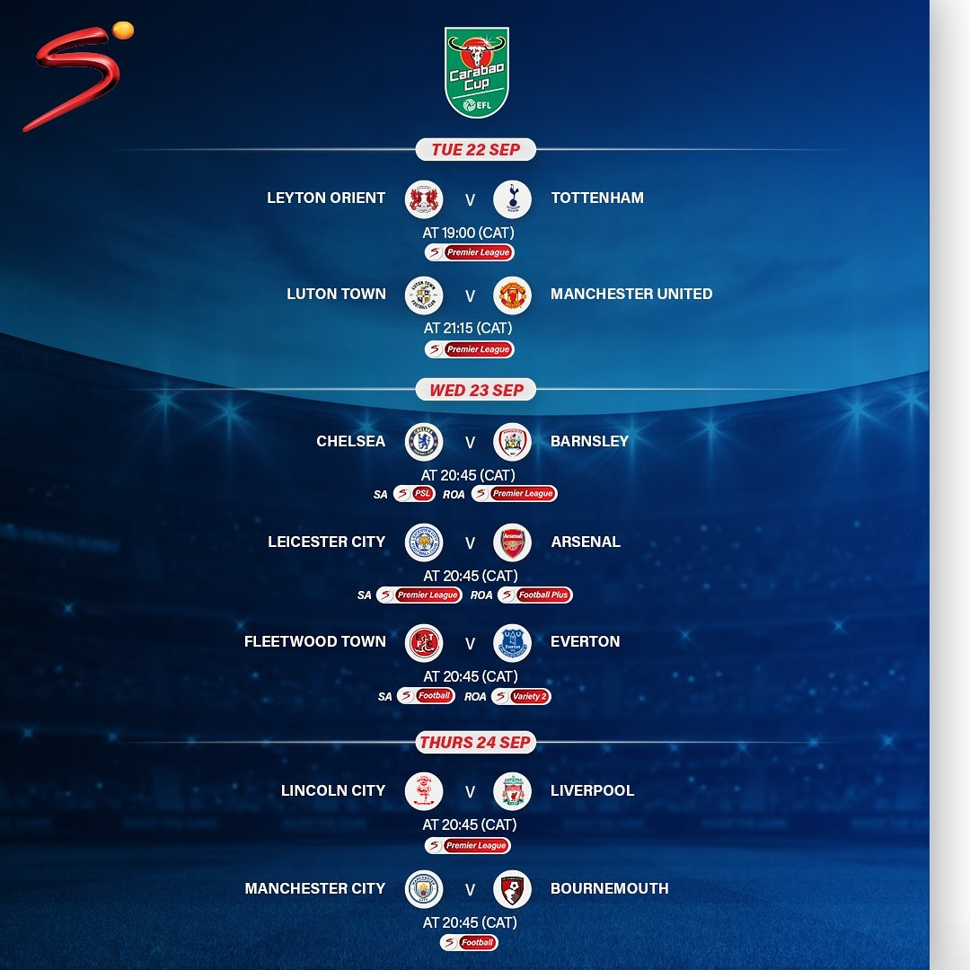 We have #CarabaoCup action lined up this week.  Watch all seven matches live 📺   Reconnect NOW.  #WorldsBestFootball https://t.co/hpL3JPPhLK