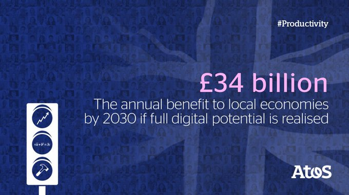 £34bn is not a small number, and if we unleash Great British Enterprise the...