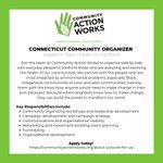Image for the Tweet beginning: We're hiring! Community Action Works