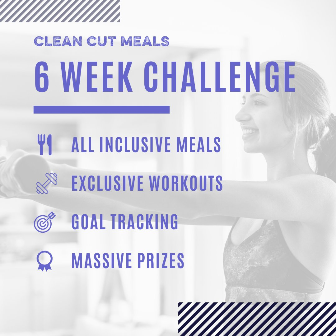 Are you ready for a life-changing experience?  Over 6 Weeks you'll get daily meal plans, goal tracking, work out sessions, & an amazing community to finish strong with!  Tag a friend below to join you & register today.  #EatWell #LookGood #FeelGreat #TeamCCM https://t.co/kBHbA0jic8