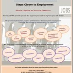 Image for the Tweet beginning: Step Closer To Employment Project
