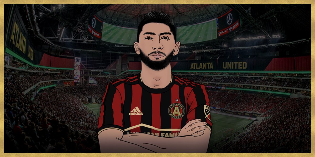 Marcelino is ready to represent the ATL 🔥