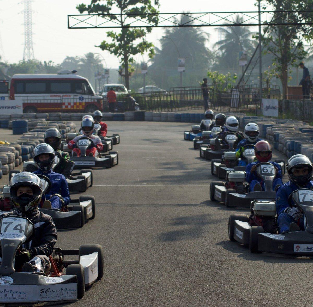 All ready to start and get the show on the road.  #IndiKarting #AjmeraIndikarting #RayoRacing #karts #gokarting #kartracing #racekarts #race #racers #racing #winner #winners #champion #champions #motorsport #kartinglovers #gokarts #speed #kartingmania #formula #gokart #mumbai https://t.co/zpksBMGzCI
