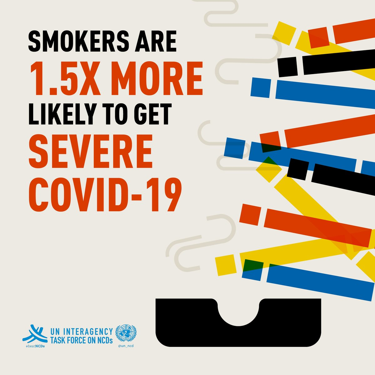 Tobacco use causes high blood pressure & heart disease, which can increase the risk of developing severe #COVID19.  More details 👉https://t.co/ezRQnvdnL1 https://t.co/8SCKxSh2lB