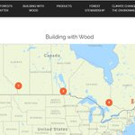Image for the Tweet beginning: Canadian Wood Council partners with