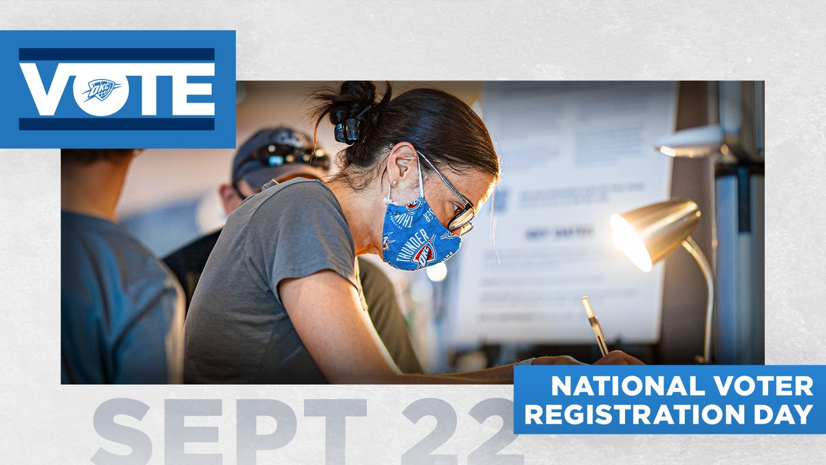 Happy #NationalVoterRegistrationDay!  There is only one way to celebrate... Register and make your plans to #vote in person or by mail!  ☑️ | https://t.co/Gshe4DGLL9 https://t.co/7S2L4sphAv