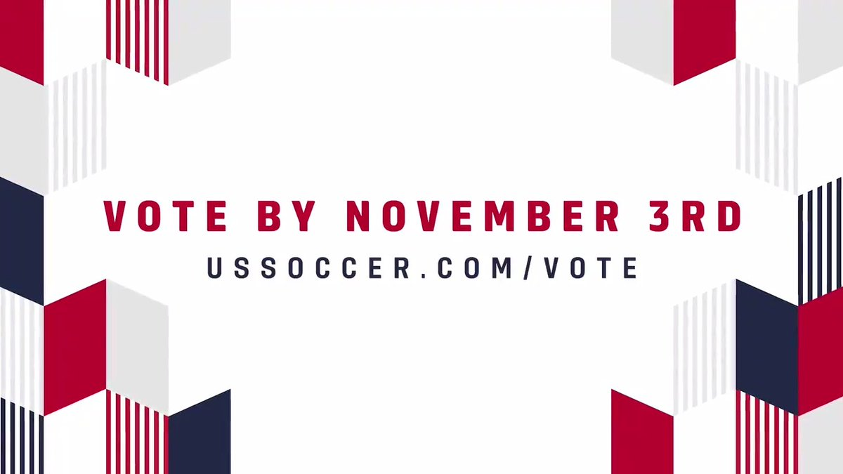 #NationalVoterRegistrationDay is here! Dont miss your chance to get in the game and be heard this election season. Visit ussoccer.com/vote 𝑵𝑶𝑾 to check your registration status, register to vote, apply for an absentee ballot or sign up for election reminders #Vote