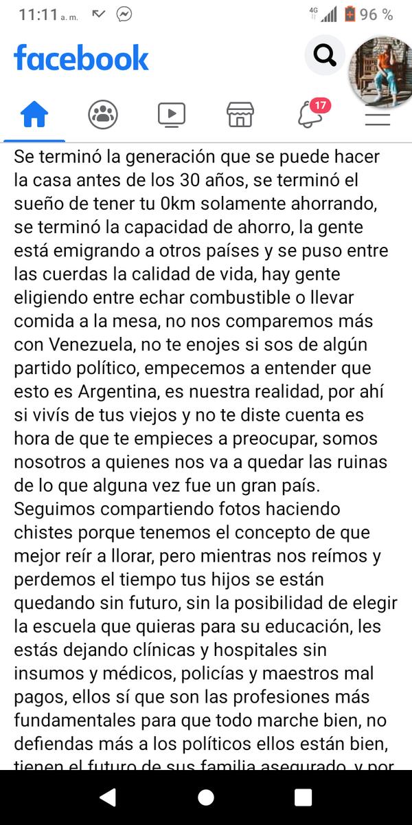 @rlorenzetti solo una Argentina más de los millones que ya no nos callamos ni nos quedamos esperando a que los políticos y uds se lleven la Argentina puesta!!!#losestamosobservando #bastadecorrupcion #bastadetraidoresalapatria #Argentinaselevanta #Argentinadepie https://t.co/QLLQP2VM1X