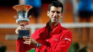 Novak Djokovic beat Diego Schwartzman in straight sets to win his fifth Italian Open crown and pass Rafael Nadal's ATP Masters 1000 titles record of 35 he now hold 36 titles.  #Tennis  #RomeMasters https://t.co/DhlOG6nbKV