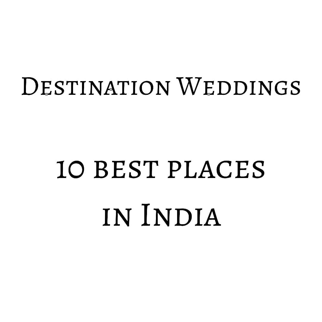 10 best places for destination wedding in India!    #Niche #Wedding #Talks with #nehaamitsingla  Follow nehaamitsingla on #instagram...  or #facebook for more!!!   #nicheweddingtalks #udaipur #jaipur #kerala #andaman #mussoorie #jimcorbett #goa #agra #rishikesh #Manesar https://t.co/KwepnjNYaz