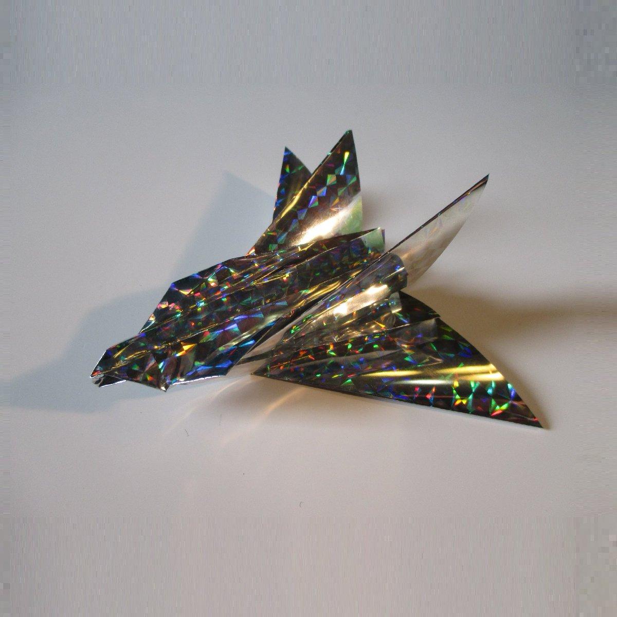 聖書《 わたし(イエス)に味方しない者はわたしに敵対し、わたしとともに集めない者は散らしているのです。 マタイ12:30》 #origami  #折り紙 #おりがみ飛行機 #折紙 #アート #折り紙作品  #架空機 #創作 #art  #紙飛行機  #paperplanes #Original #紙ヒコーキ #ORIGAMIAIRPLANE #みことば 作品紹介! https://t.co/InDBHt3ZTg