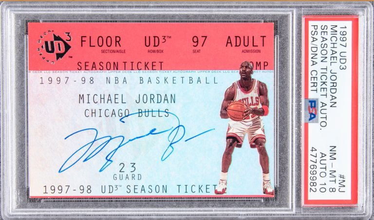 Remember this story about the @UpperDeckSports  UD3 Michael Jordan card pulled from a $3.99 pack in 1997?  Card has sold via @GoldinAuctions for $93,480. https://t.co/YvVS8L7X28 https://t.co/fmw3oOBhpY