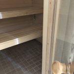 Закончена отделка саун в квартирах с чистовой отделкой, в жилом комплексе у метро Пионерская.