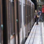 Image for the Tweet beginning: Els trens circulen segons l'horari