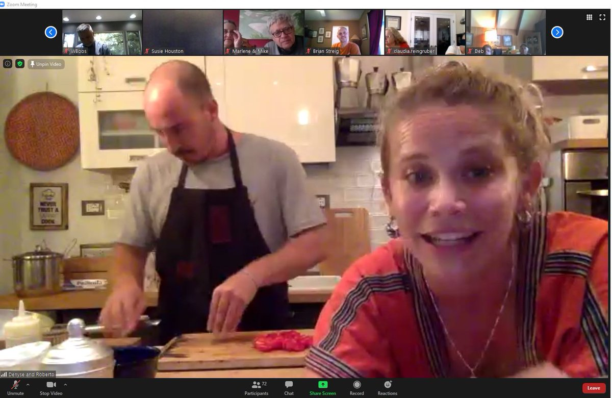 Who joined us last night for our cooking class from Rome? We hope you enjoyed our chefs and the instruction as much as we did, and treated yourself to a delicious, homemade Italian dinner afterwards. Thank you to @Walks for the experience! #WeekofGratitude https://t.co/UaXXb4GDDL