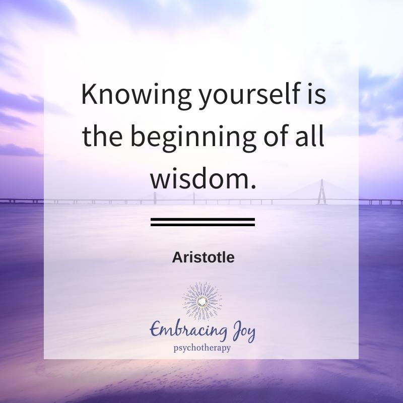 But it's a lifelong process. #aristotle #embracingjoy #knowyourself https://t.co/JLX0CtNjOp
