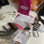 Beautiful samples have arrived ahead of tomorrow's home & learn with @SolusCeramics @VersitalUK @schluterNA