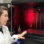 Image for the Tweet beginning: Amaia Beitra @MUnibertsitatea introduced #3Dprinting