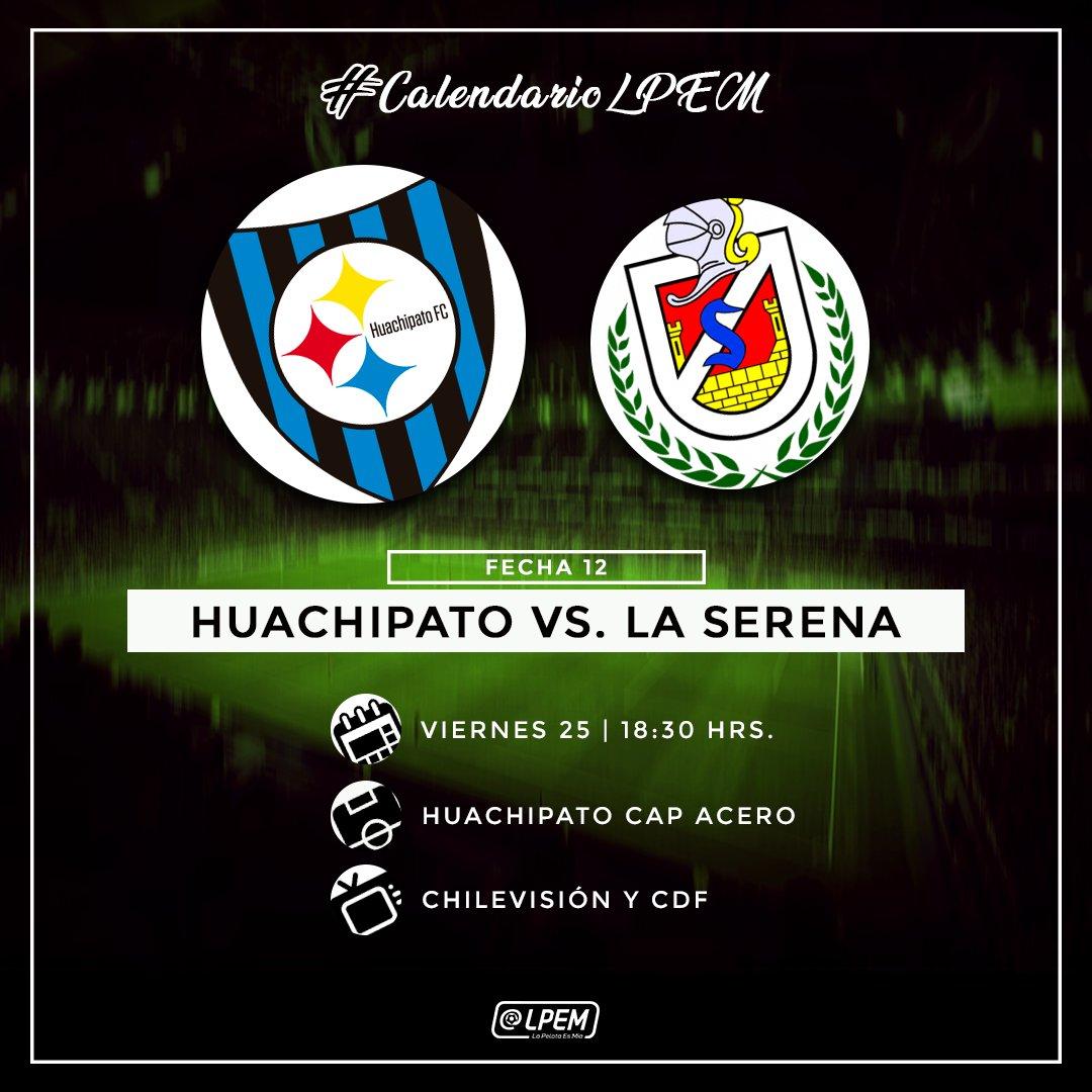 #CalendarioLPEM📆 Este viernes, Huachipato buscará salir de la racha de tres derrotas consecutivas ante un complicado Deportes La Serena. El partido podrás verlo por TV abierta.  ¿Volverán a ganar los Acereros? #LPEMEnTodas https://t.co/3RLqgcqrU1