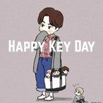 Image for the Tweet beginning: ️キーくんお誕生日おめでとう🎉 だいすきー! #만능열쇠_기범이_생일_열렸네 #HappyKeyDay #키 #key #SHINee