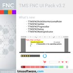 Image for the Tweet beginning: TMS FNC UI Pack v3.2
