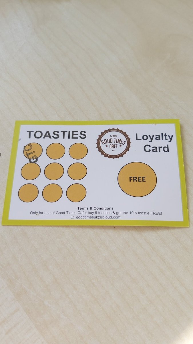 @SallyAlexmkc @MKCollege and a loyalty card! They are doing mac&cheese now too, it's a star turn #goodtimescafeuk https://t.co/cqFnxvpcf5