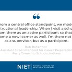 Image for the Tweet beginning: Our @NIETteach partners like @PerryTwpSchools