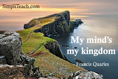 There are worse places to live in than your #mind! (Always a new corner to explore!) #learning https://t.co/cWquEhgkKU