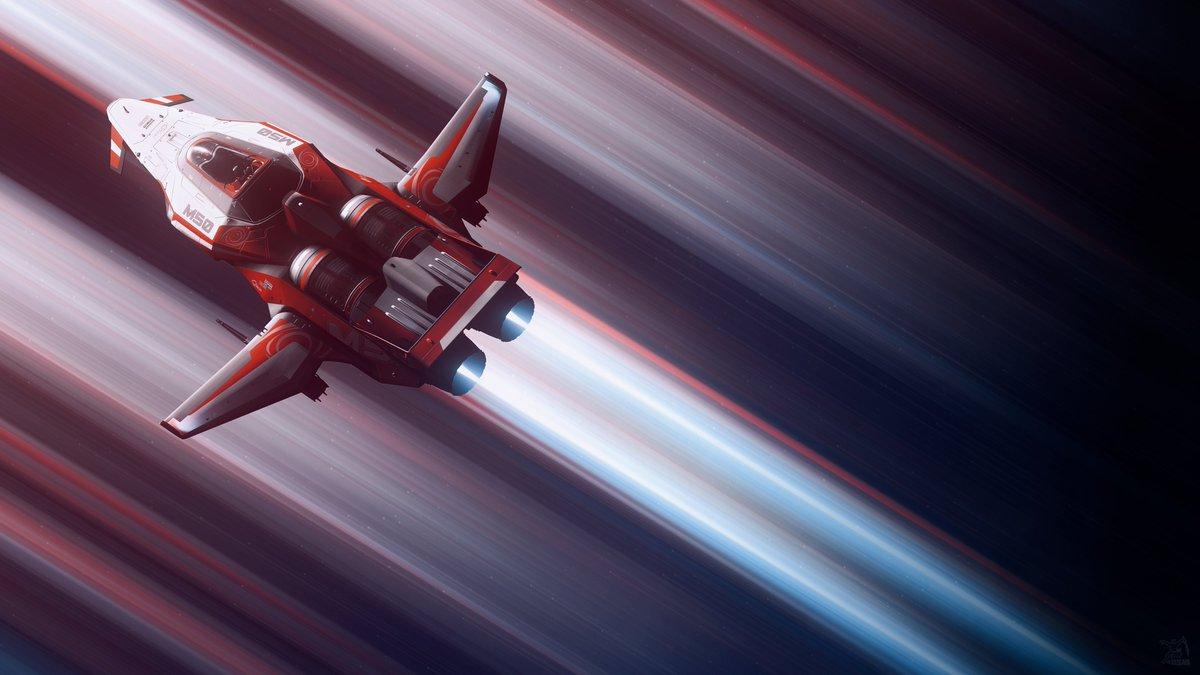 "My #StarCitizen in-game #ScreenshotOfTheWeek from alpha 3.10: ""Origin M50""  ➡️ Full 4k version: https://t.co/lV2IYCzxez Developer: @RobertsSpaceInd  #screenshot #VirtualPhotography #VGPUnite #scifi #Gametography #space #VPGamers https://t.co/Szk0PZTMH1"