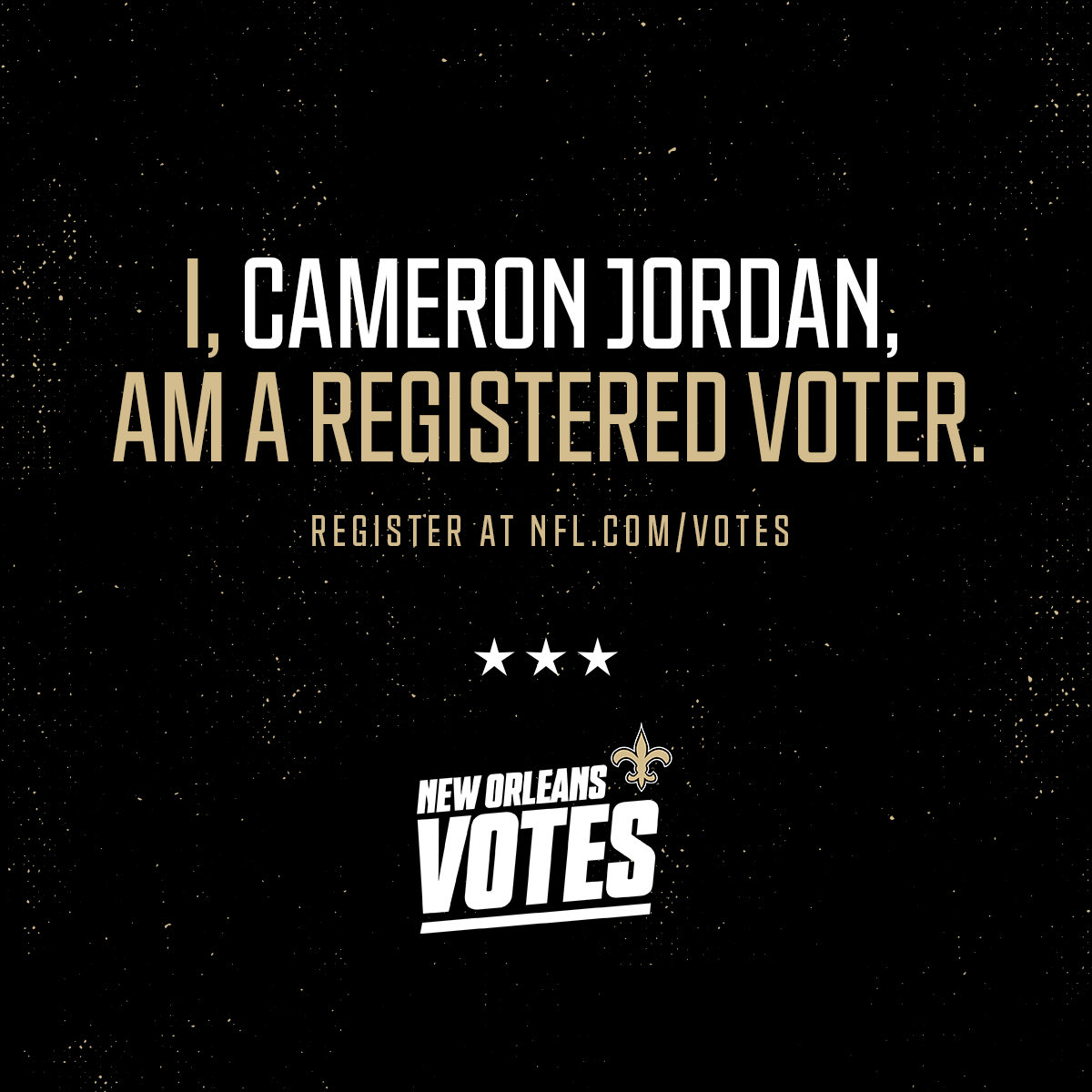 Visit nfl.com/votes to register to vote and more! #NFLVotes