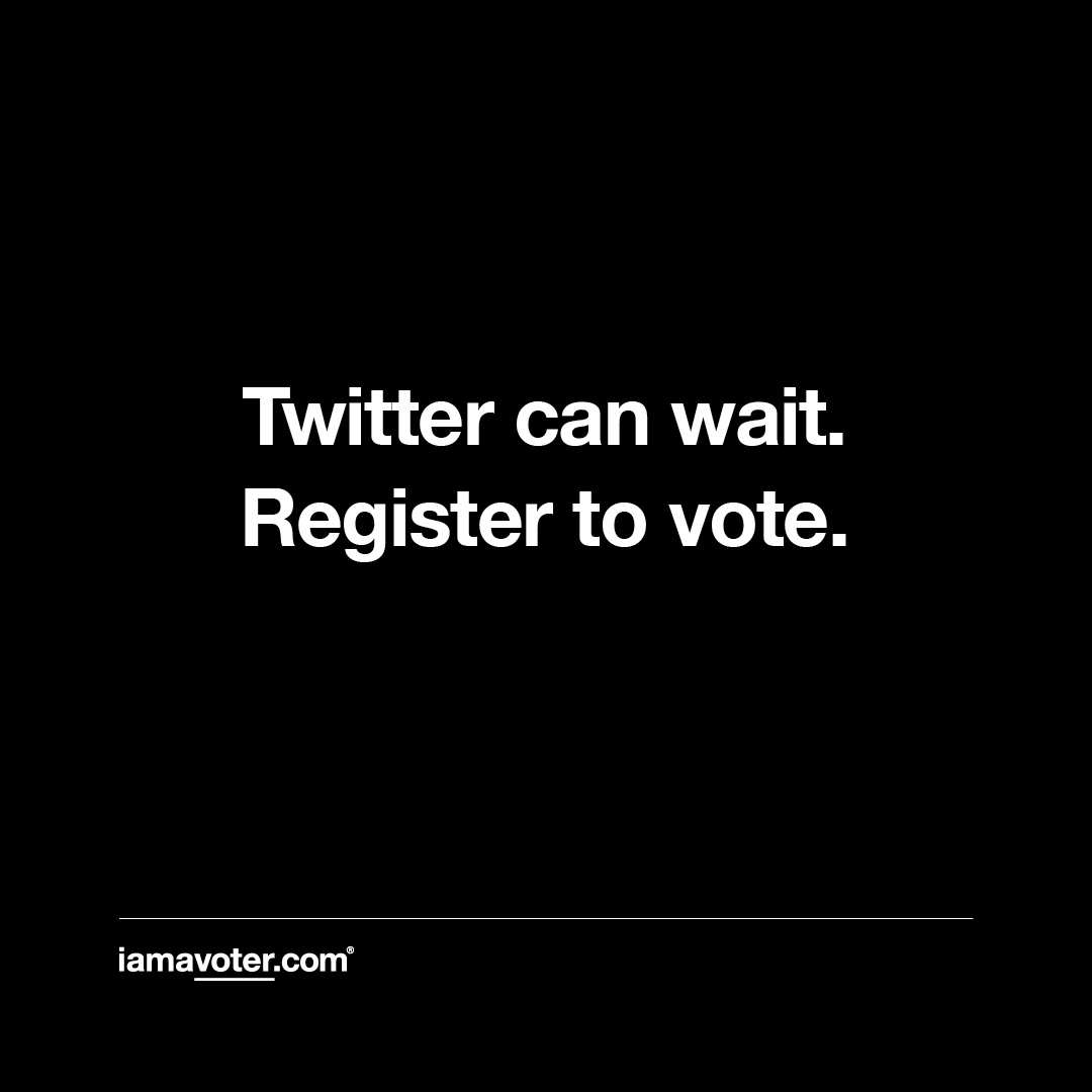 are you registered to vote? head to https://t.co/gFrCObbHnp to register and receive important election information. https://t.co/AQyvJN9Aqw