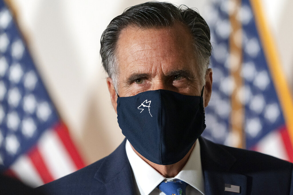Sen. Romney announces support for holding vote on President Trump's Supreme Court nominee - https://t.co/Ceu8mF4WAM #OANN https://t.co/Lw2GEbzm9s
