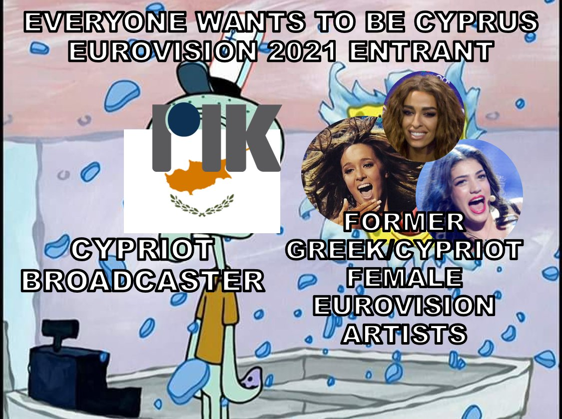 Cyprus is on fire with all these former female Eurovision entrants wishing to return in 2021🇨🇾 https://t.co/pFlv9jyTRf
