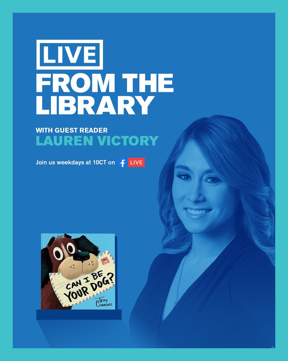 🚨10AM TOMORROW VIA @chipublib Facebook page🚨:   Catch me reading & acting out this cute tail <#dogmom joke>. I'm a special guest with a special guest 🐶(#MoochthePooch). Can't wait!   @cbschicago #reading #readingisfun #readmorebooks #books #booksbooksbooks #readtoyourkids https://t.co/4ovClAK6h4