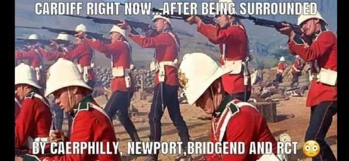 Remember lads, when they come, ONLY BLOW THE BLOODY DOORS ZORF!!! #covid19 #Wales #Cardiff #RCT #Caerphilly #Newport #Bridgend #MerthyrTydfil https://t.co/AOWCnNjn5J