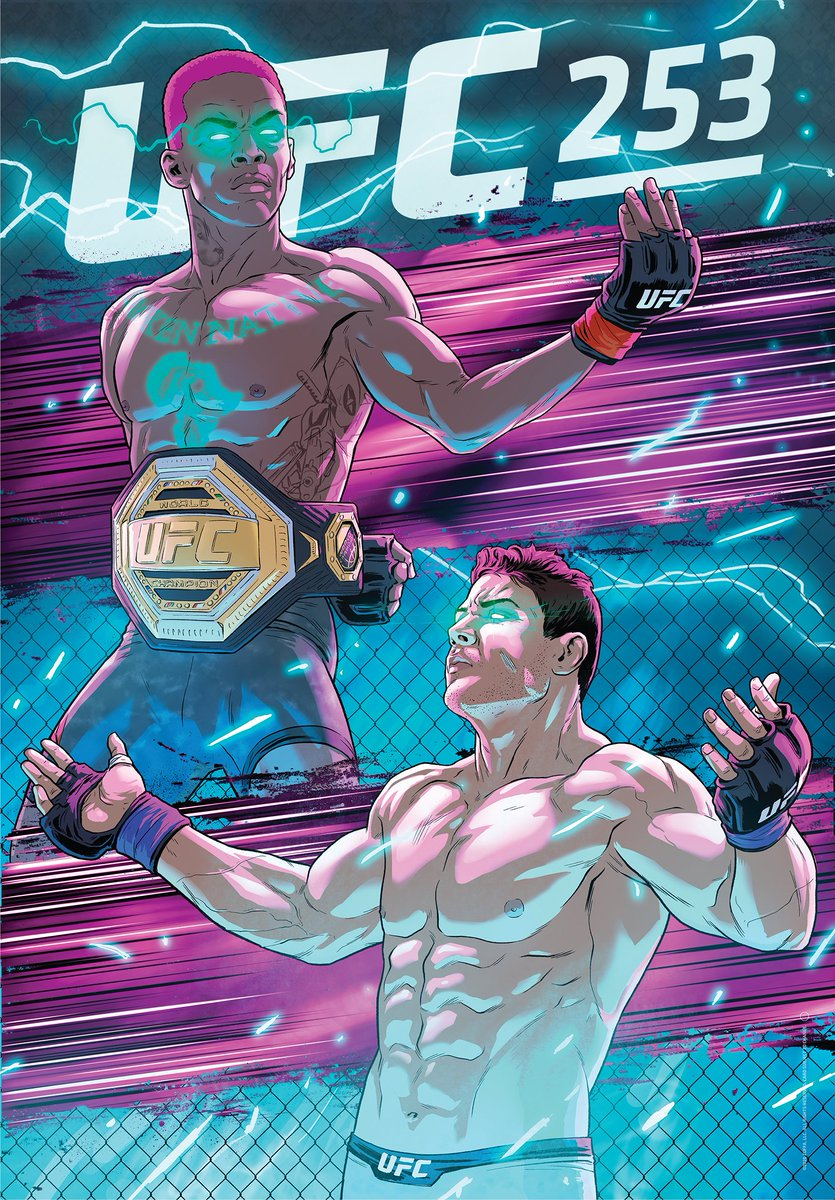 ON A WHOLE NEW LEVEL.  Who leaves Fight Island as undisputed champs? 🏝  Get your Artist Series merch ➡  https://t.co/aoupCT3EpW ( 🖌: @RodrigoLorenzoL ) https://t.co/bsQTOBeKBG