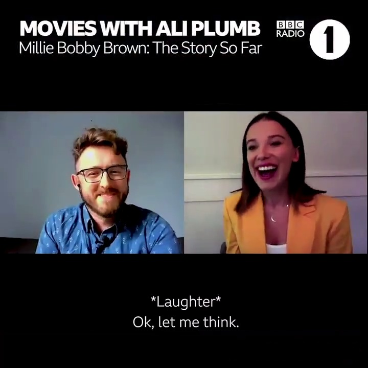 👟The 80s costumes?  A packet of Eggos? 😋   If you were an extra in @Stranger_Things, what would you take as a memento? 🤔  Millie Bobby Brown tells @AliPlumb what she pinched and reveals all about her brand new film #EnolaHolmes https://t.co/JkGkH8VxPs https://t.co/7fXbnevn0F