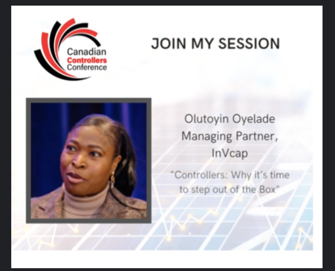 """I will speak Today on the """"Evolution of Controllers"""" at the: Canadian Controllers Conference.   Connect to Access the Conference here:https://t.co/CEFuz9pOs3  #ceos #girlboss #startups #creators #innovators #businesses #partners #influencers #Founders #differencemakers https://t.co/vE5u3oJsAf"""