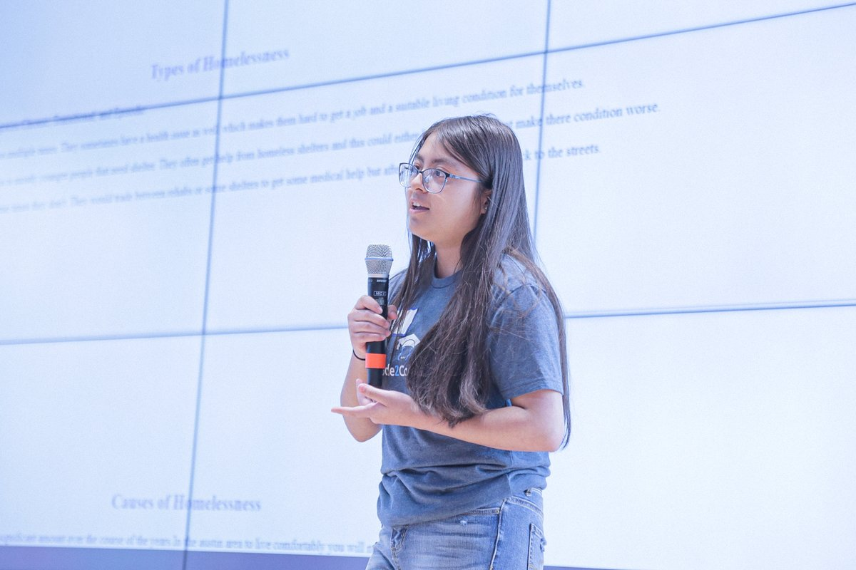 On this #TechTalentTuesday we are celebrating Rocio and her incredible accomplishments! A senior at @DVHSYISD   we are thrilled to have Rocio in Code2College for the second year in a row.   #hispanicheritagemonth #HHM #womenintech #latinxintech #diversityinstem https://t.co/UVFTdGbS74